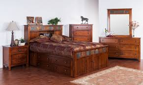 rustic platform beds with storage. Brilliant Platform Terrific Oak Platform Bed Storage With Brown Sheet Also Tall Chest Of  Drawer As Well Vintage Vanity In Rustic Bedroom Set Decors To Beds R