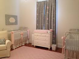 vintage pink and gray nursery for twin girls project nursery pink and gray rug for nursery