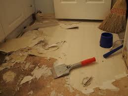 thissortaoldlife bathroom floor removal