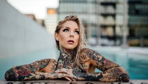 бить или не бить какие татуировки на женском теле меньше всего