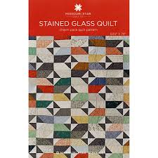 Stained Glass Quilt Pattern Cool Stained Glass Quilt Pattern Missouri Star Quilt Co Missouri