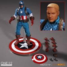 Mezco Toyz One:12 Collective Captain America Action Figure