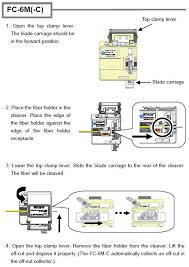 high precision fiber optic cable cleaver for cutting precise 90 degree 125um fibre optic cable for ffth fiber to the home s