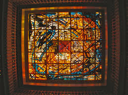 Stained Glass Coffee Table Historic La Stained Glass Ceiling Up For Auction La At Home