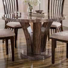 amari marble round dining table