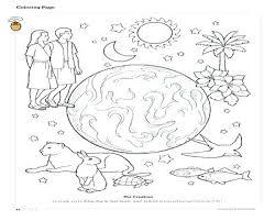 creation coloring sheet creation coloring sheet creation story coloring pages coloring trend