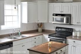how to install a beadboard kitchen backsplash