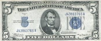 1934 Five Dollar Silver Certificate Learn The Value