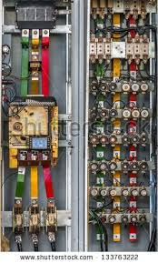 electrical conduits stock images royalty images vectors industrial fuse box on the wall closeup photo