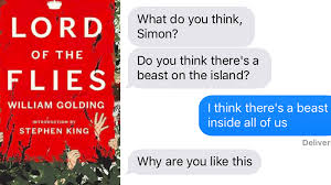 sparklife lord of the flies as told in a series of texts