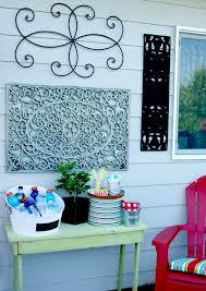 Outdoor Wall Art {DIY