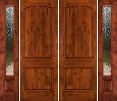 double front door with sidelights. mahogany wooden double front doors with side lights in 3/4 length also rain glass element for beautiful home door sidelights