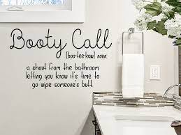 Booty Call Definition Bathroom Wall Decal Funny Bathroom Decal Story Of Home Decals