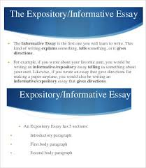 informative essay word pdf documents expository informative essay