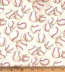 Free: 100% Cotton BASEBALL Fabric for Quilting / Crafts - Other ... & 100% Cotton BASEBALL Fabric for Quilting / Crafts Adamdwight.com