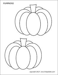 Instead of stars, you see ducks coming out of pumpkins! Pumpkins Free Printable Templates Coloring Pages Firstpalette Com