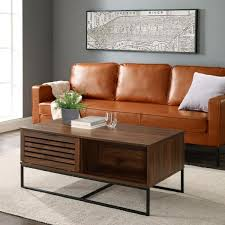 large rectangle mdf coffee table with
