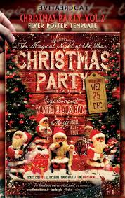 amazing christmas and new year s eve flyers for the holiday season christmas party vintage style flyer