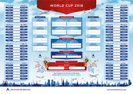 World Cup Planner Chart 2018 Charter To The 2018 Russian World Cup