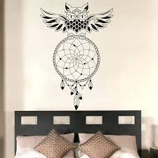 Buy A Dream Catcher Decal Art For Walls Buy Dream Catcher Bedroom Owl Wall Decal Art 40