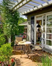 pergola 6 bedroom farmhouse. sliding french doors patio traditional with deck furniture flowers outdoor pergola 6 bedroom farmhouse f