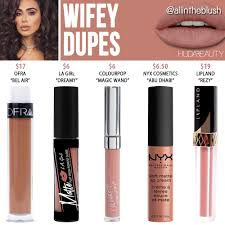 huda beauty wifey liquid matte lipstick dupe