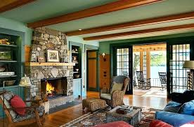 rustic colors for living room