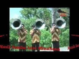 Mereka berdomisili di desa tenga, kab. Musik Bambu Adat Minahasa Musik Bambu Seng Klarinet Youtube