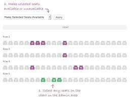 Wordpress Seating Chart Plugin Fooevents Seating Fooevents For Woocommerce