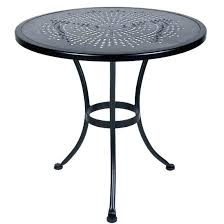 Table Bistro Metal Round Metal Patio Table Bistro Round Table With ...