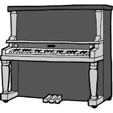 Disegno Di Pianoforte A Colori Per Bambini Colorare