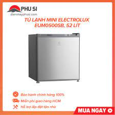 Tủ lạnh mini Electrolux EUM0500SB 52 lít