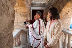 Image result for pictures of Jesus before pilate
