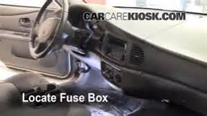similiar 2004 buick lesabre fuse box location keywords 1997 2005 buick century interior fuse check 2004 buick century
