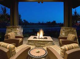 propane fire pit under covered deck new outdoor fireplaces and fire pits that light up the