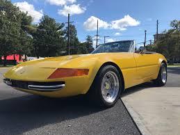 Powering the replica is a small. Corvette Based 1977 Ferrari Daytona Spyder Mcburine Replica For Sale