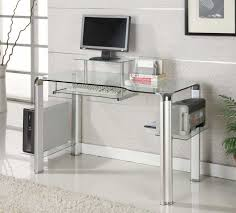 modern glass computer desk size stunning and with regard to plans 2