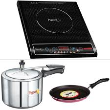 Non Stick Kitchen Appliances Pigeon Rapido Cute Induction Cooktop Nonstick Tawa 3 L Pressure