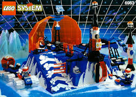 Конструктор lego Контрольный центр Ледяной Планеты  Конструктор lego 6983 Контрольный центр Ледяной Планеты ice station odyssey