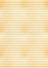 One Centimeter Graph Paper Vertical A4 Size Yellow Sheet Of Old Stock Vector