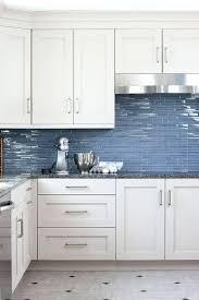 blue backsplash tile blue glass kitchen tiles blue and white tile backsplash kitchen
