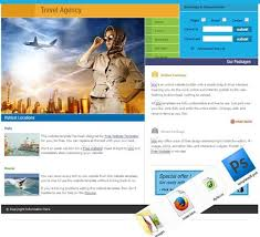 Travel And Tourism Website Templates Free Download Free Sample