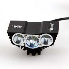 Xml U2 Bike Light 8000 Lm 3x Cree Xm L U2 Led Rechargeable Bicycle Light