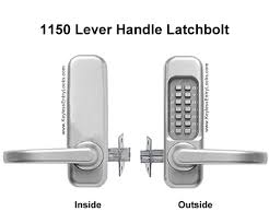 1150 1150 dc lever handle latchbolt locks