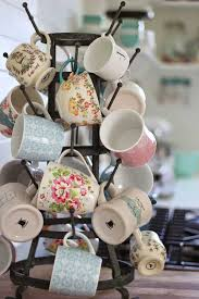 Coffee Cup Display Stands Custom 32 Fun And Practical DIY Coffee Mugs Storage Ideas For Your Home