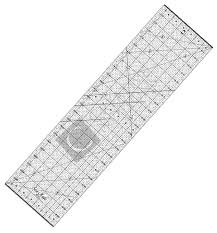Quilting Acrylic Ruler (mm & inches) - Sew Mate & Sew Mate Quilting Acrylic Ruler Ruler Adamdwight.com