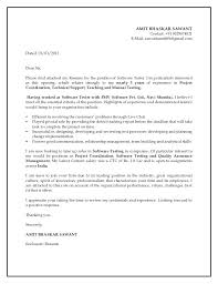 Entry Level Resume Cover Letter Examples Qa Entry Level Resume Cover Letter Examples For Tester Sample Cover
