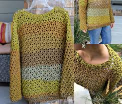 Crochet Oversized Sweater Pattern Cool FourHour Fall Sweater Free Crochet Pattern