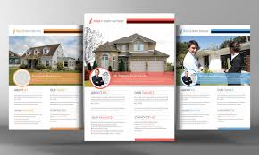 real estate psd template photos graphics fonts themes premium real estate flyer template