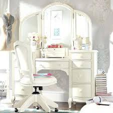 White Vanities For Bedrooms Makeup Table Three Fold Corner Mirror ...